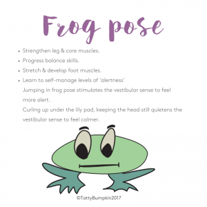 Frog pose benefits