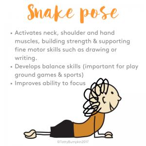 snake pose benefits