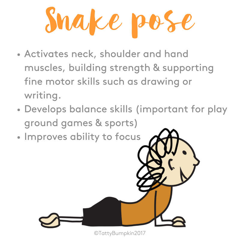 snake pose benefits
