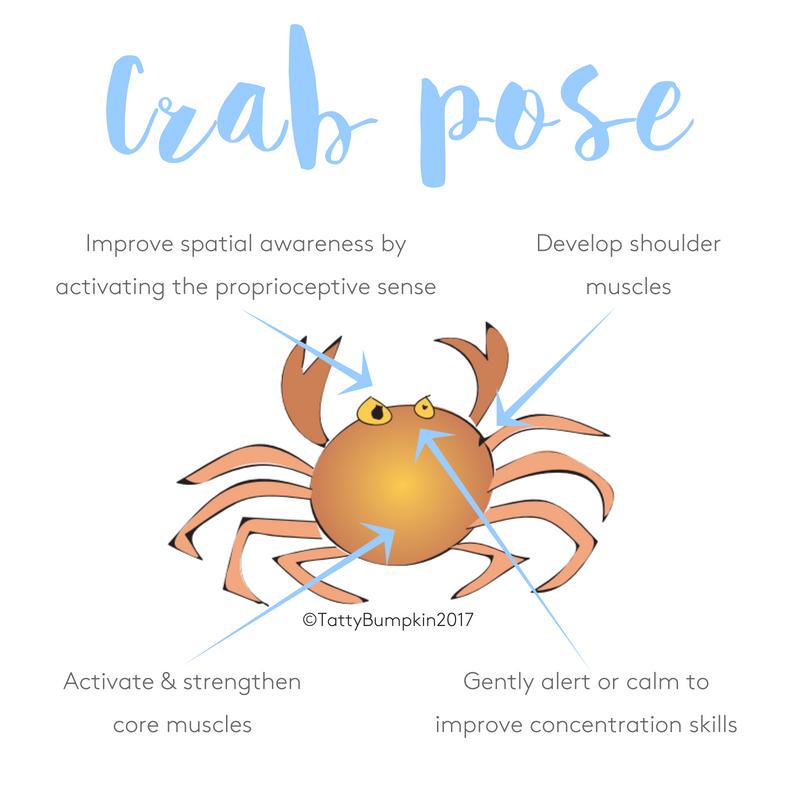 Crab pose benefits