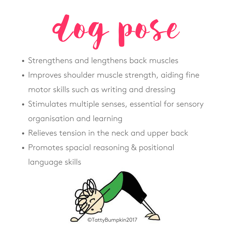 benefits of dog pose yoga posture