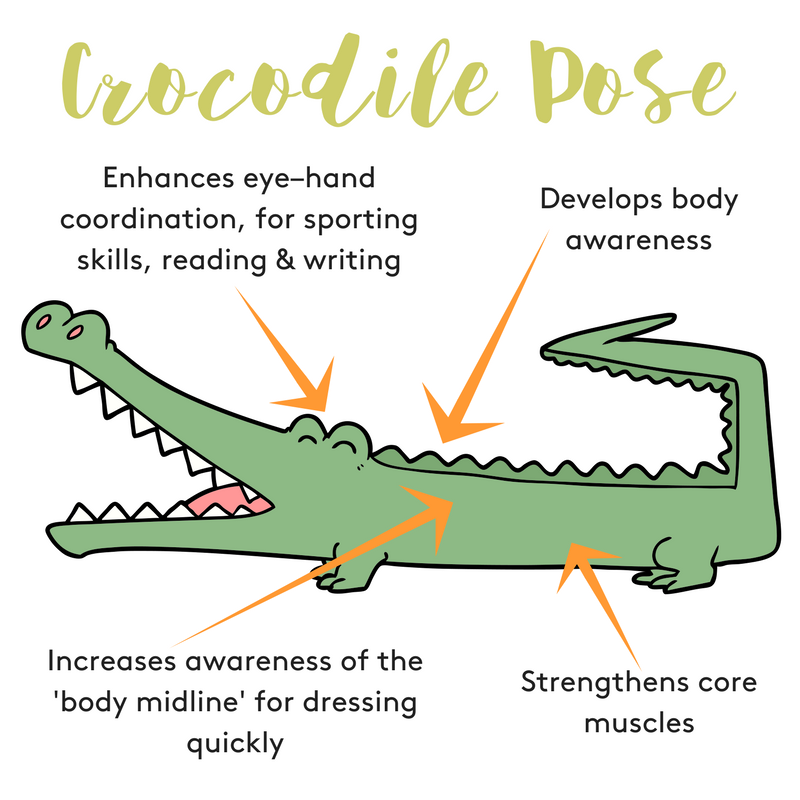 Benefits of Crocodile Pose