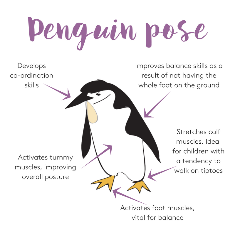 The benefits of penguin pose