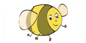 bee breath pose blog post header
