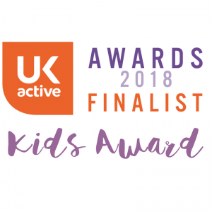 UK Active Kids Award Finalist 2018