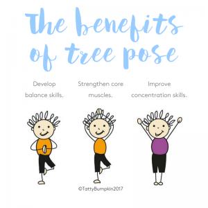 Tree pose benefits