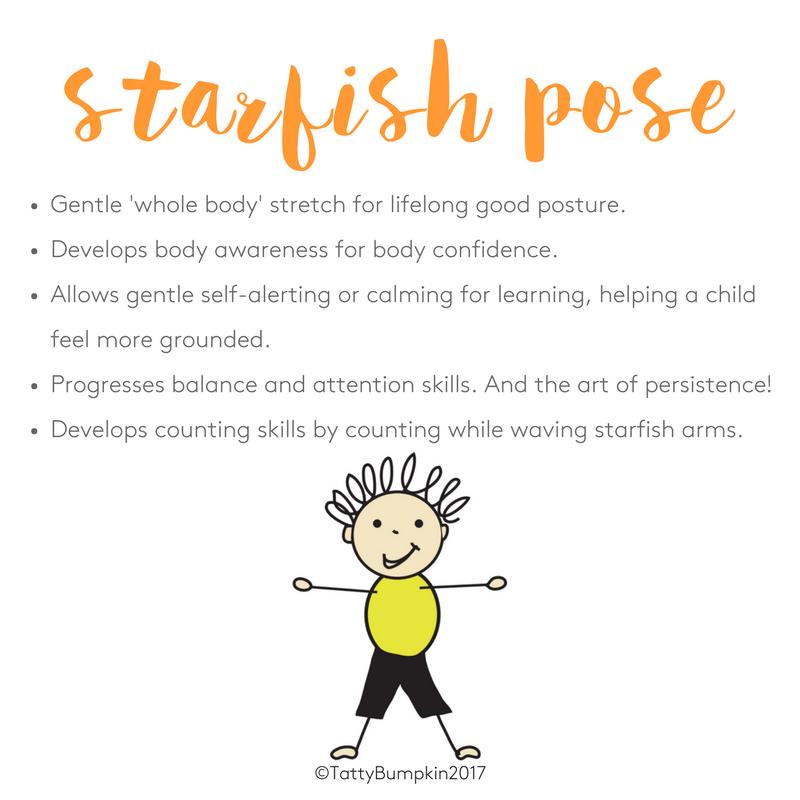 Benefits of starfish pose