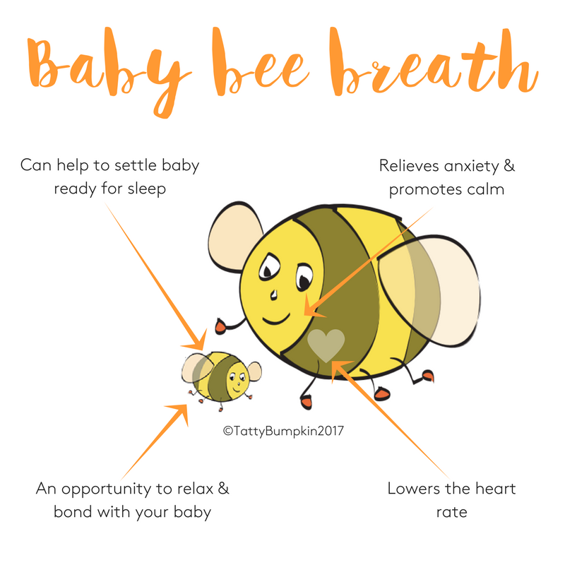 Bee Pose for Babies - Children Inspired by Yoga - Pose of