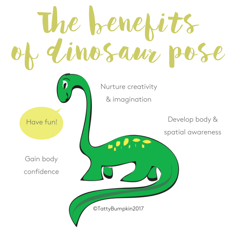 Dinosaur pose benefits