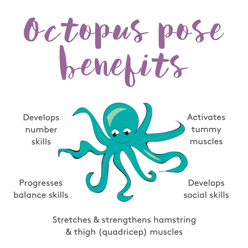 Octopus pose benefits