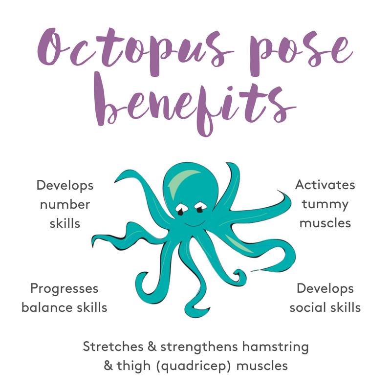 Octopus pose benefits