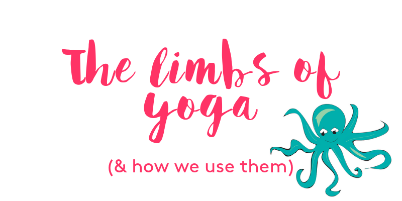 What are the limbs of yoga and how are they used in our classes?